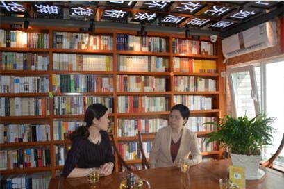 省直机关工委常务副书记郭俊苹调研九丘书馆、省行管局