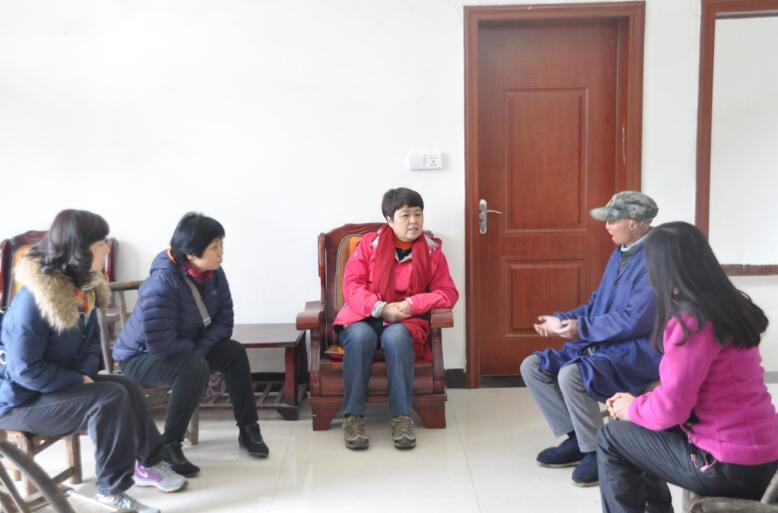 """省社科联深入扶贫村开展精准扶贫""""春季攻势""""行动"""