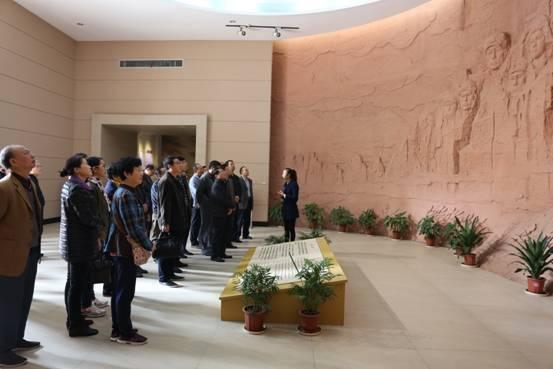 """湖北省国税局走进""""红色洪湖""""接受革命传统教育"""